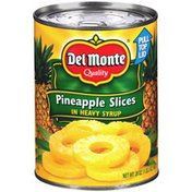 Del Monte Slices in Heavy Syrup Pineapple