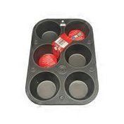 G&S 6 Cup Large Texas Muffin Pan