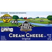 First Street Cream Cheese, Original