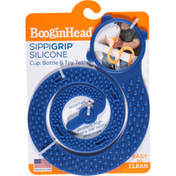BooginHead Cup, Bottle & Toy Tether, Blue, Silicone