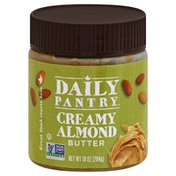 Daily Pantry Almond Butter, Creamy