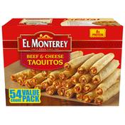 El Monterey Beef & Cheese Flour Taquitos