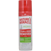 Nature's Miracle Stain & Odor Remover Foam, Cat, Enzymatic Fomula
