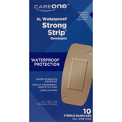 CareOne XL Waterproof Strong Strip Bandages