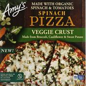 Amy's Kitchen Pizza, Spinach, Veggie Crust