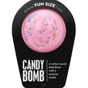 Da Bomb Bath Fizzer, Candy Bomb, Fun Size