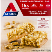 Atkins Protein-Rich Meal Bar Peanut Butter Granola - 5 CT