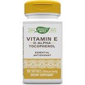 Nature's Way Vitamin E D-Alpha Tocopherol