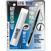 CoverGirl Katy Kat COVERGIRL Katy Kat Mascara Very Black/Perfect Point Plus Black Onyx Value Pack Female Cosmetics
