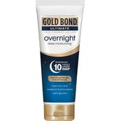Gold Bond Skin Therapy Lotion, Deep Moisturizing, Ultimate, Overnight