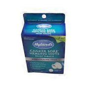 Hyland's Canker Sore* Healing Dots Relief Tablets