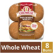 Brownberry/Arnold/Oroweat Whole Grains 100% Whole Wheat Buns