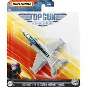 Mattel Top Gun, Maverick, Boeing F/A-18 Super Hornet Hero, 3+