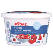 Tops Sweetened Sliced Strawberries With Sugar