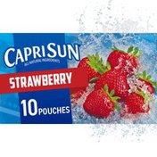 Capri Sun Strawberry Naturally Flavored Juice Drink Blend