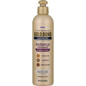 Gold Bond Hydrating Cream, Oil-Infused, Ultimate, Indulgent Scent, Radiance Renewal, Bottle