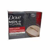 Dove Men+Care Deep Clean Purifying Grains Moisturizing Cream Body & Face Bar