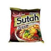 Sangyang Hot & Spicy Sutah Instant Ramen Noodle Soup