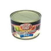 Western Family Whole Water Chestnuts