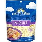 Crystal Farms Shredded Muenster Cheese