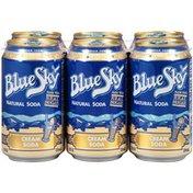 Blue Sky Natural Cream Soda