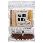 Pork Barrel BBQ Bacon Jerky, Old Fashioned Maple