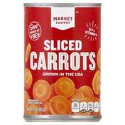 Market Pantry Carrots, Sliced