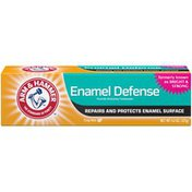 Arm & Hammer Enamel Defense Toothpaste- Truly Radiant Bright & Strong Toothpaste -One Tube, Crisp Mint- Fluoride Toothpaste