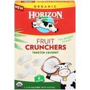 Horizon Organic Organic Toasted Coconut Fruit Crunchers