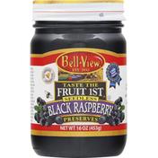 Bell-View Preserves, Seedless, Black Raspberry