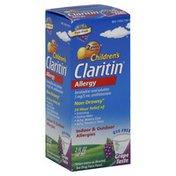 Claritin Allergy, Indoor & Outdoor, Grape Taste