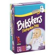 Bibsters 0-6m+, Disposable Bibs, Box