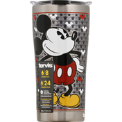 Tervis Tumbler, Stainless Steel, Silver Mickey