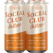 Social Club Seltzer, Sidecar
