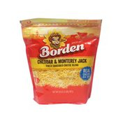 Borden Monterey Jack Finely Shredded Cheddar Cheese