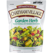 Chatham Village Garden Herb Traditional Cut Baked Croutons