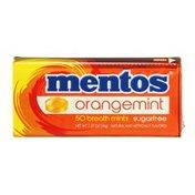 Mentos Breath Mints Sugarfree Orangemint - 50 CT