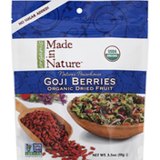 Made in Nature Goji Berries, Organic Dried Fruit