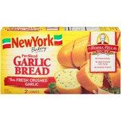 New York Bakery Mamma Bella's Recipe Pre-Sliced Garlic Bread