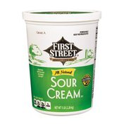 First Street All Natural Sour Cream