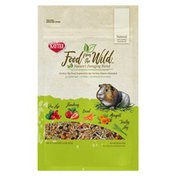 Kaytee Food From The Wild Rose Hip, Strawberry, Carrot, Marigold, Timothy Hay Nature's Foraging Blend For All Guinea Pigs