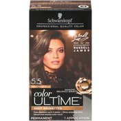 Ultime Color Ultime Deep Brunettes 5.5 Medium Parisian Brown Schwarzkopf Color Ultime Deep Brunettes 5.5 Medium Parisian Brown Hair Color