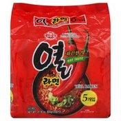 Ottogi Yeul Ramen, Hot Taste