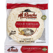 Mi Rancho Tortillas, Flour, Fajita Size