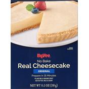 Hy-Vee Cheesecake, Real, Original, No Bake