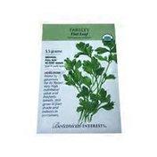 Botanical Interests Organic Dark Green Flat Italian Parsley Seeds