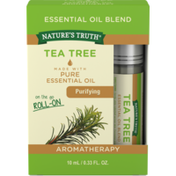 Nature's Truth Essential Oil Blend, Tea Tree, Purifying, Roll-On