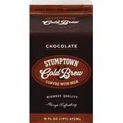 Stumptown Coffee, with Milk, Cold Brew, Chocolate