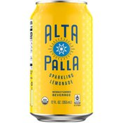 Alta Palla Sparkling Lemonade Beverage