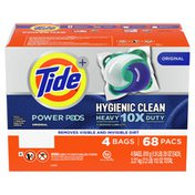 Tide Hygienic Clean Heavy 10X Duty Power Pods Laundry Detergent Pacs, Original,